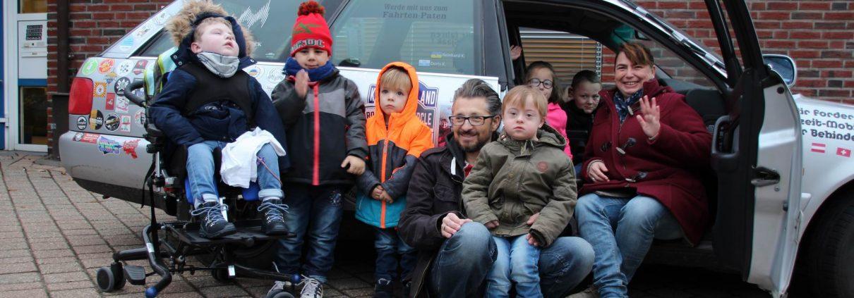 Doris und Reinhard Kortmanns fahhren für den guten Zweck durch Europa und sammeln Geld für die Kinder des Familienzentrums
